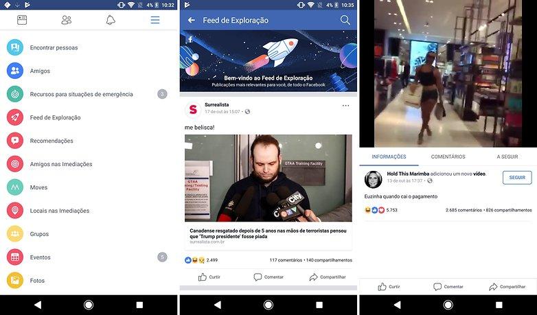 facebook feed explorer new aupdate