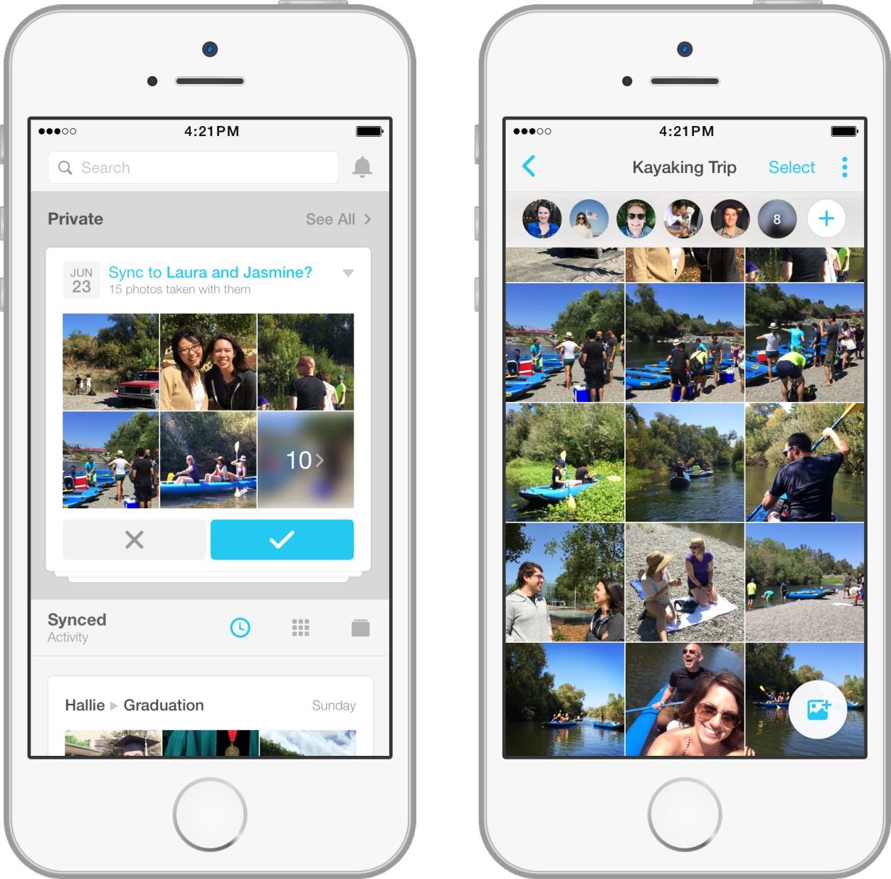 Facebook App Moments