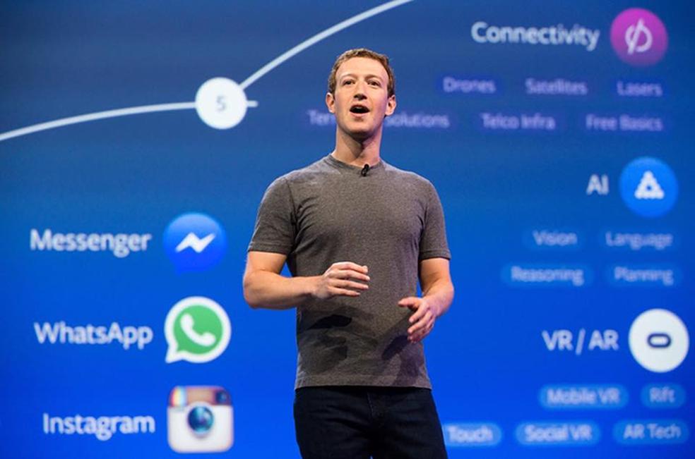 Facebook, Mark Zuckerberg's company, has received the highest fine ever given to a technology company Photo: Divulgao / Facebook