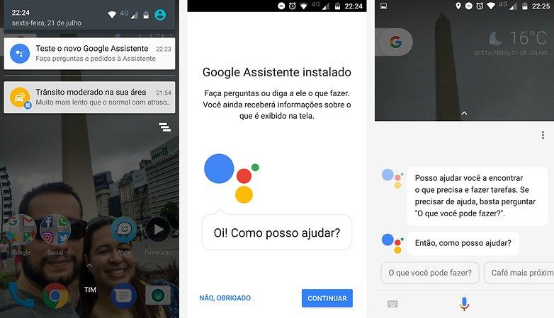 google assistant pt br