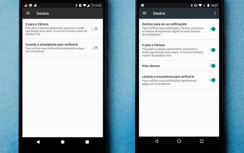 AndroidPIT Nexus 5X gestures 1