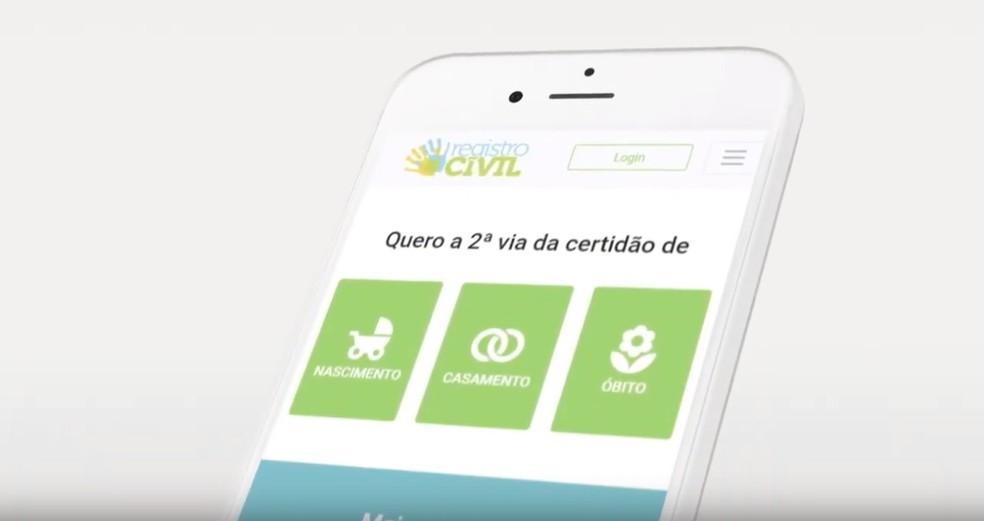 Civil Registration issues birth and marriage certificate online Photo: Divulgação / Civil Registration