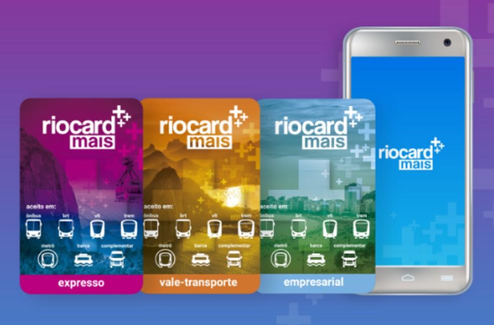RioCard Cards more Photo: Divulgao / Rio Card