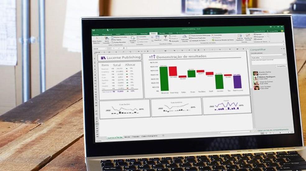 Ready-made Excel Spreadsheets Help Organize Life Photo: Divulgao / Microsoft