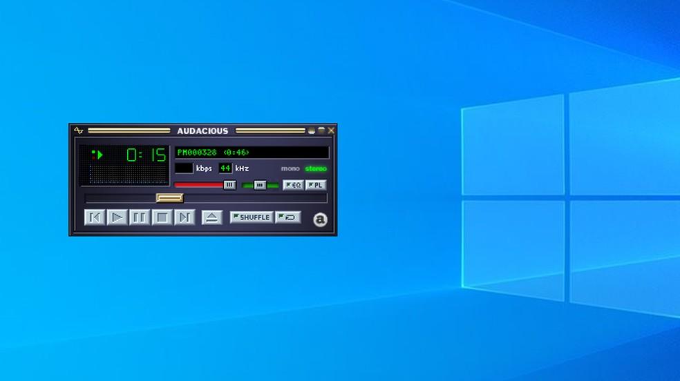 See how to make Audacious look like Winamp on PC Photo: Reproduo / Paulo Alves