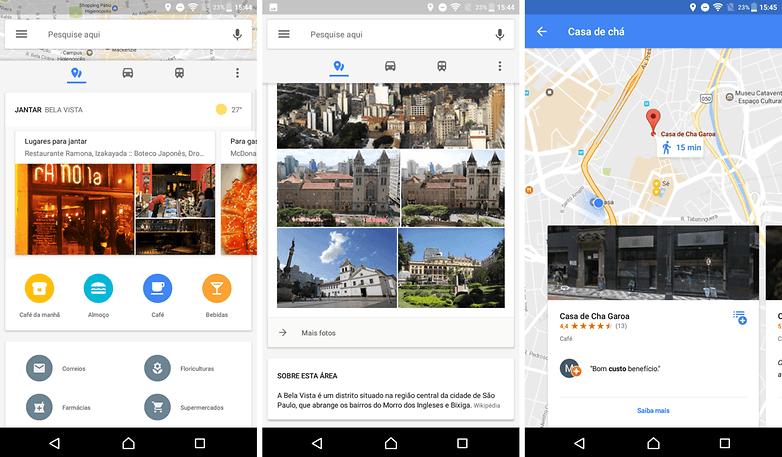 google maps local next establish