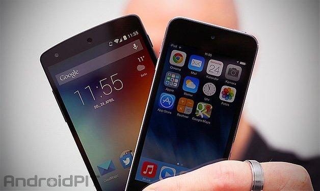 ios android ipod nexus teaser