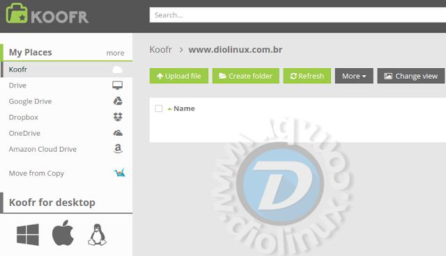 Koofr Linux Multicloud