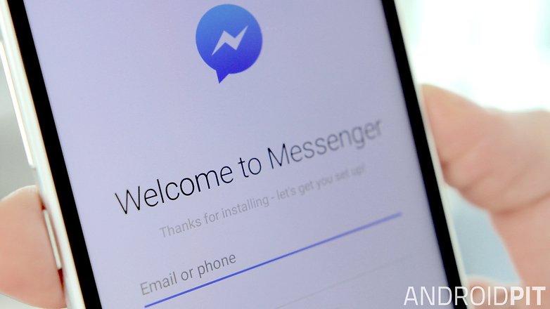 AndroidPIT Facebook Messenger login hero