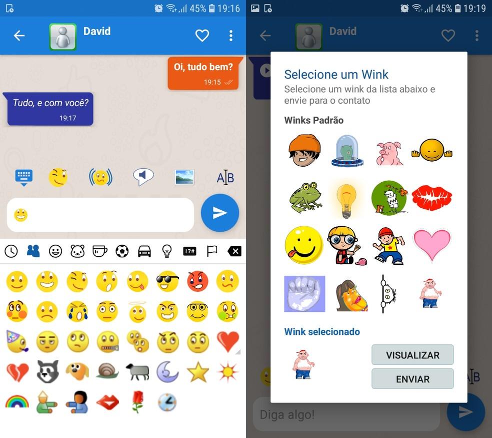 Unofficial MSN Messenger App Reissues Microsoft Messenger Features Photo: Reproduction / Ana Letcia Loubak