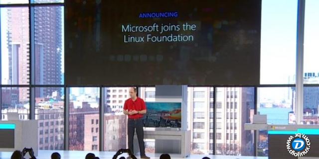 Microsoft joins Linux Foundation