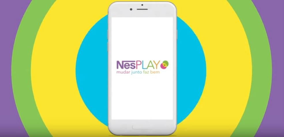Nestl's NesPLAY app offers recipes, games and challenges to awaken healthy habits in children. Photo: Playback / NesPLAY