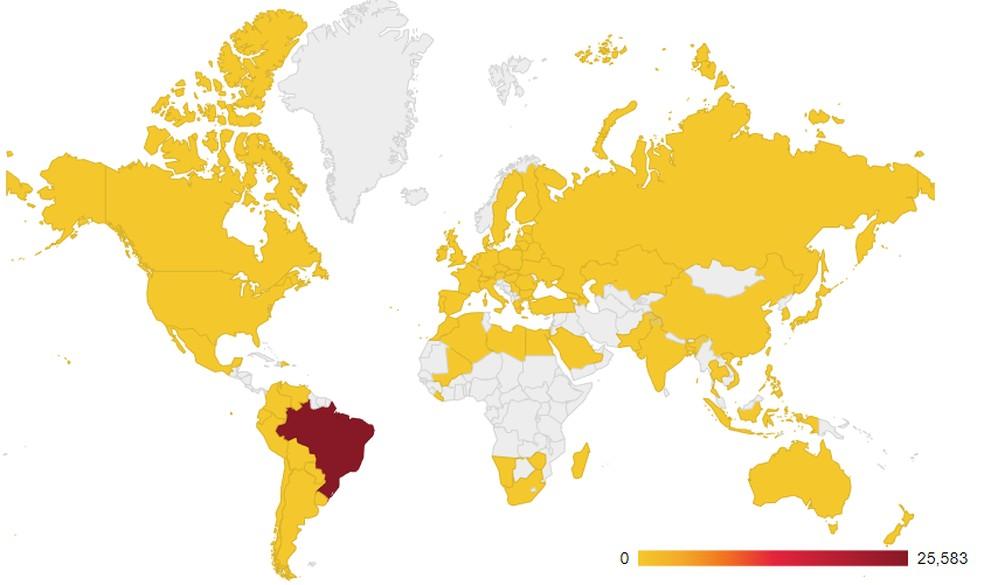 98% of Guildma's targets are in Brazil Photo: Divulgao / Avast