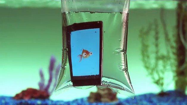 Sony underwater apps