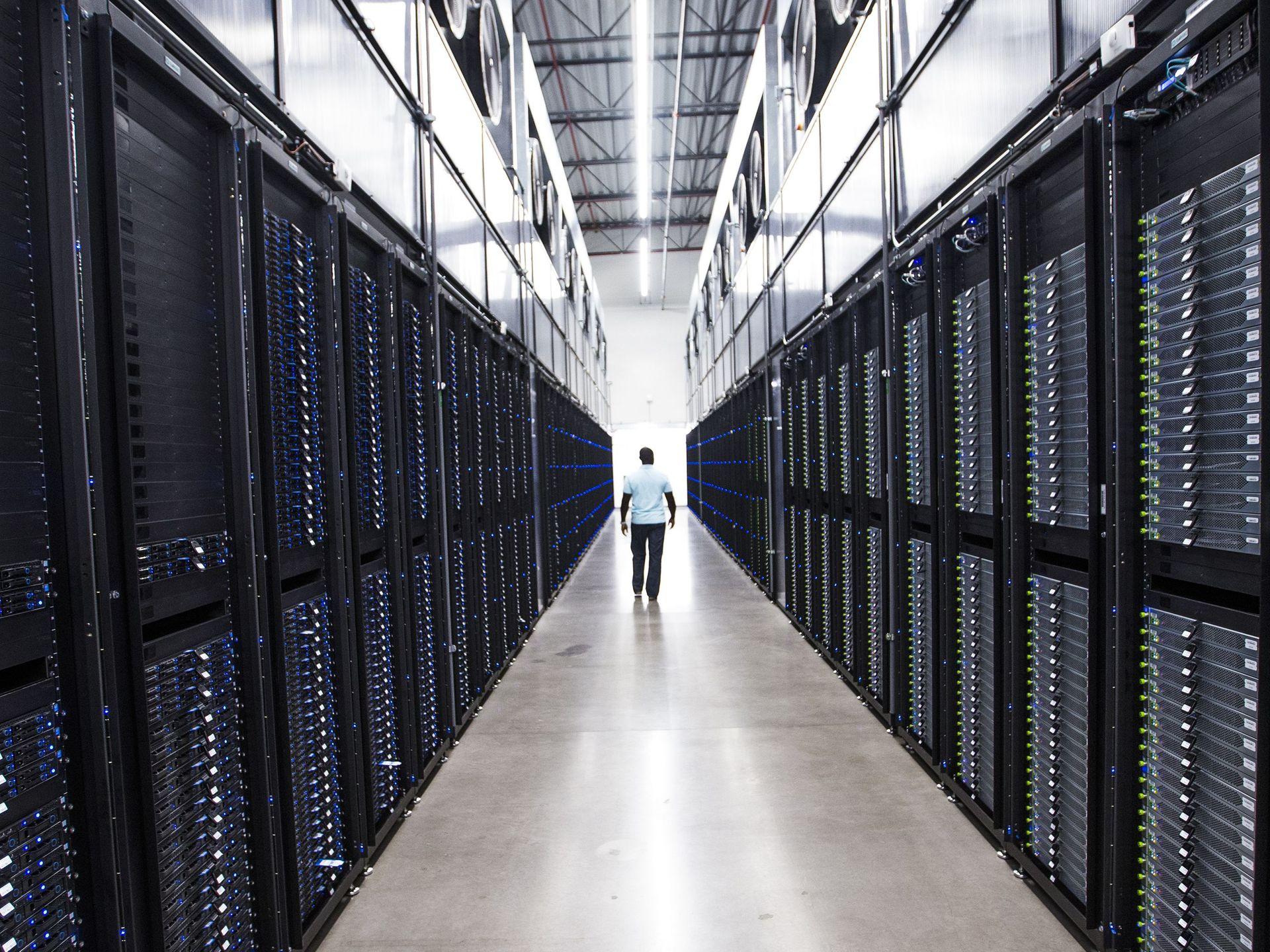 Apple Data Center in Mesa, Arizona, USA
