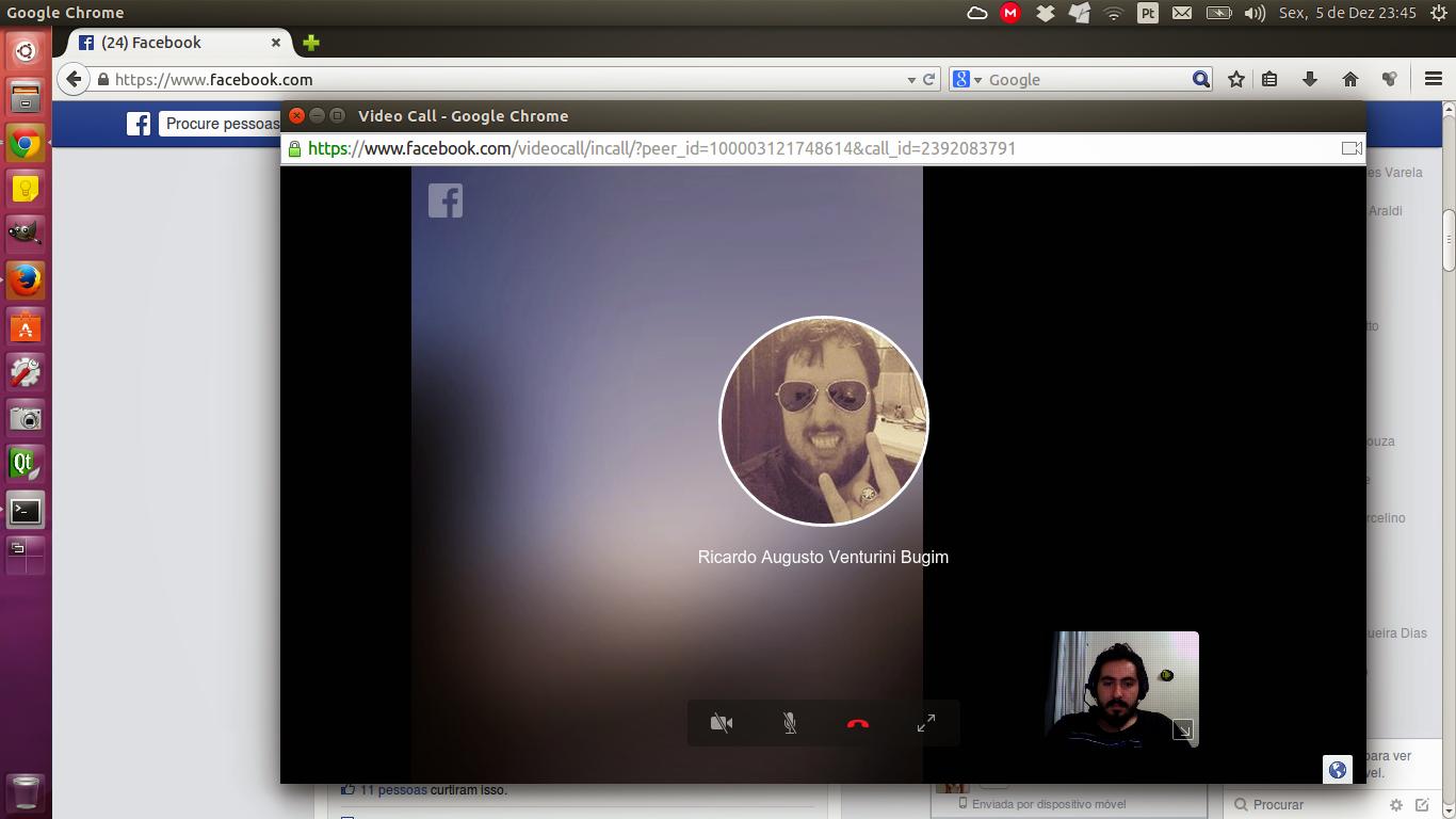 Facebook Chat on Ubuntu Video
