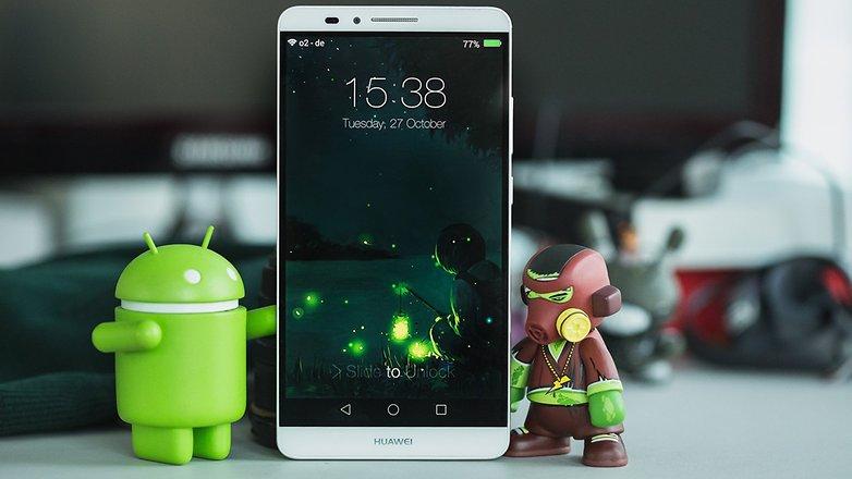 AndroidPIT Lock Screen Huawei Mate7 2