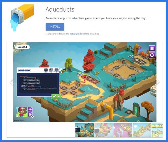 educational-games-educational-logic-math-endless-studios-linux-flatpak-ubuntu-mint-teaching-nursery-school-aqueducts
