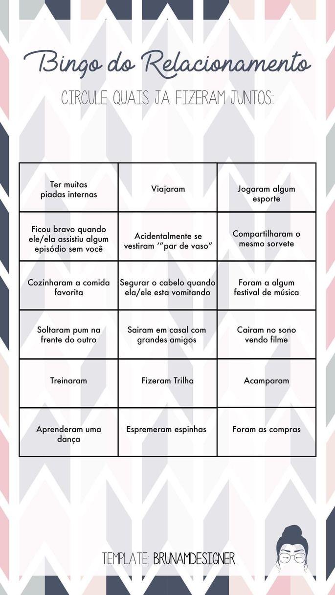 Relationship Bingo