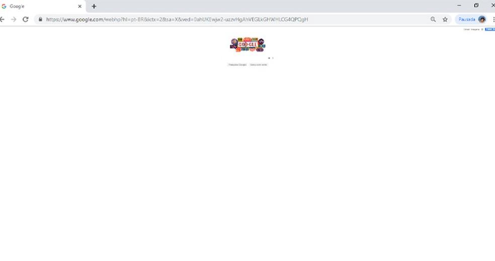 Google Browser zoom prank image Photo: Reproduo / Giulia Arajo