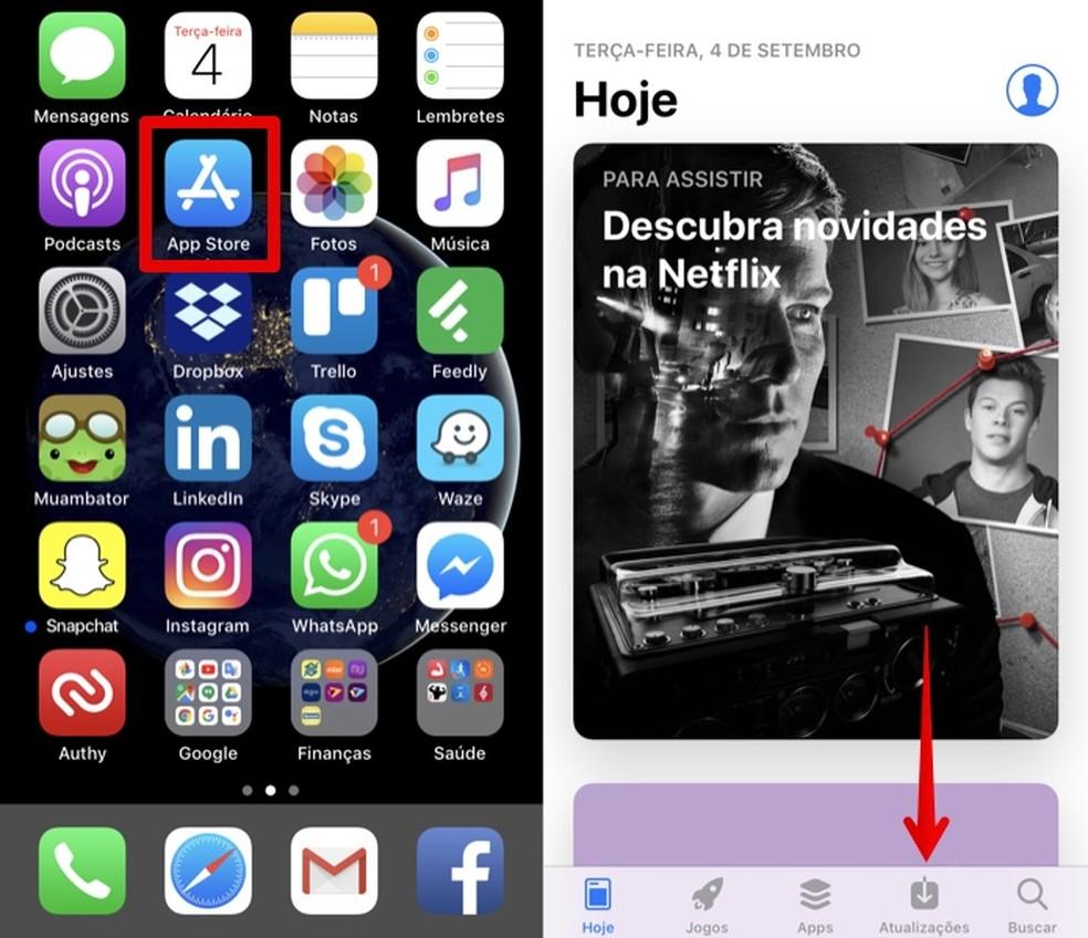 Open Apple App Store Photo: Reproduo / Helito Bijora