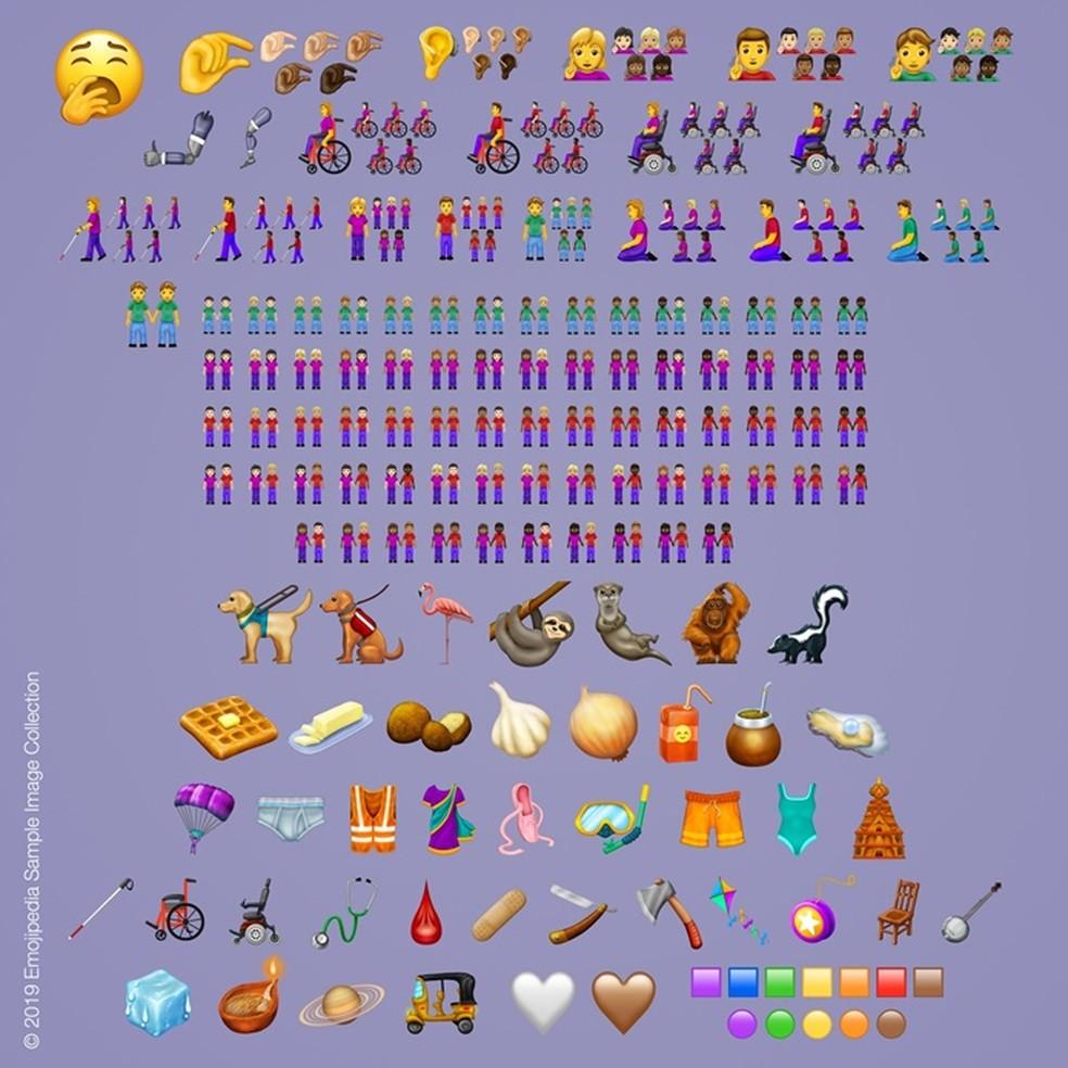 Emojis Announced for 2019 Photo: Share / Emojipedia