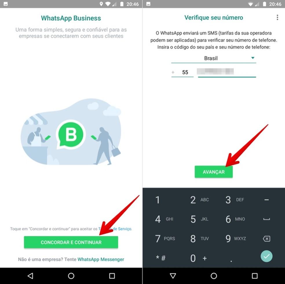 Setting Up WhatsApp Business Account Photo: Reproduction / Helito Beggiora
