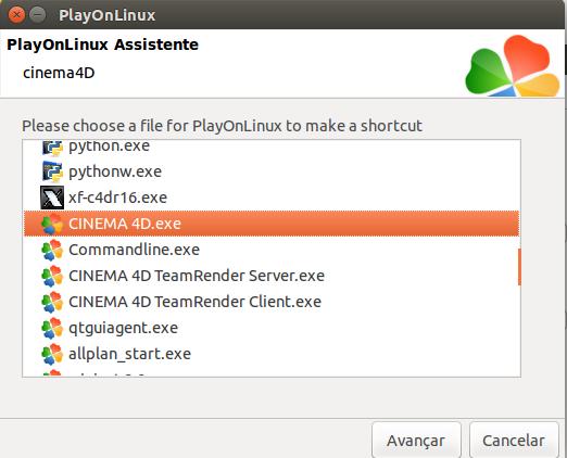 Cinema 4D on Linux