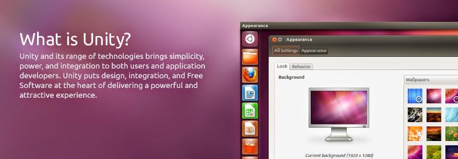 Unity the Ubuntu interface