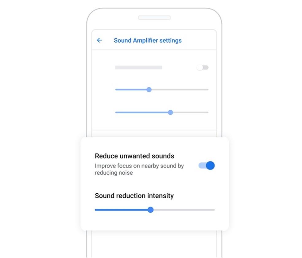 Set up the Sound Amplifier app to suit your needs Photo: Divulgao / Google