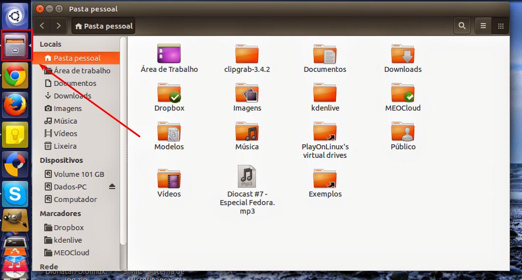 File Browser on Ubuntu