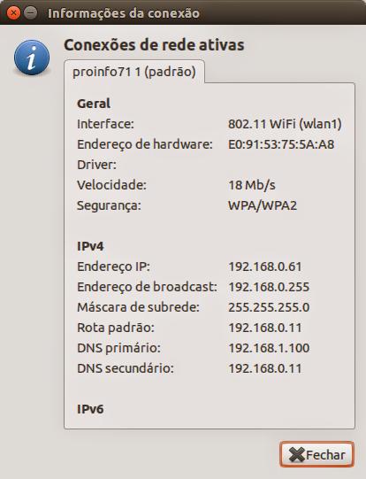 Ubuntu Network Information