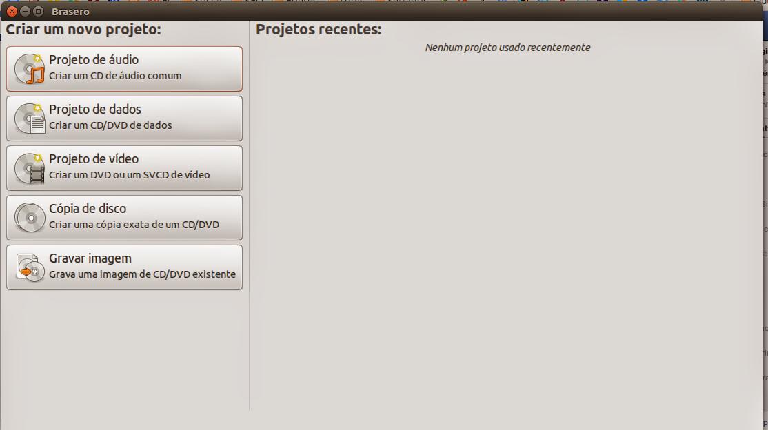 Brasero on Ubuntu