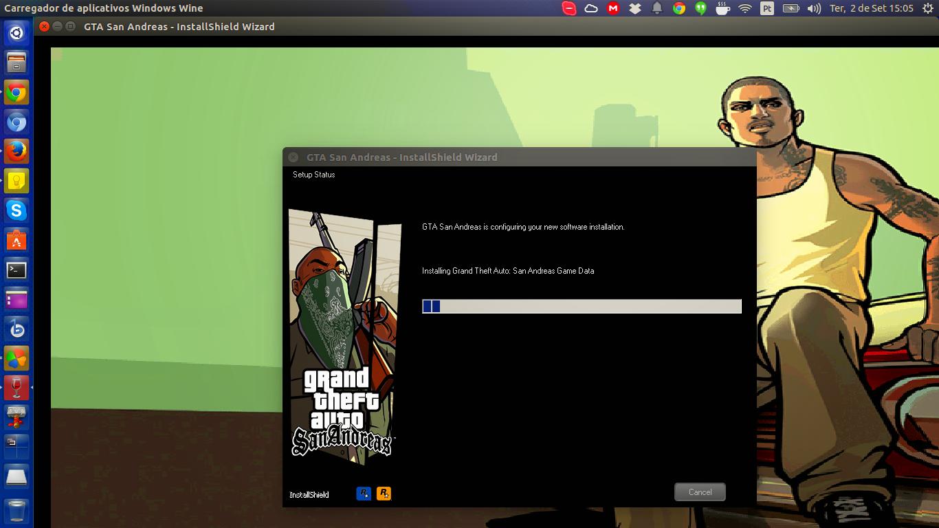 Installing GTA San Andreas on Ubuntu with Wine