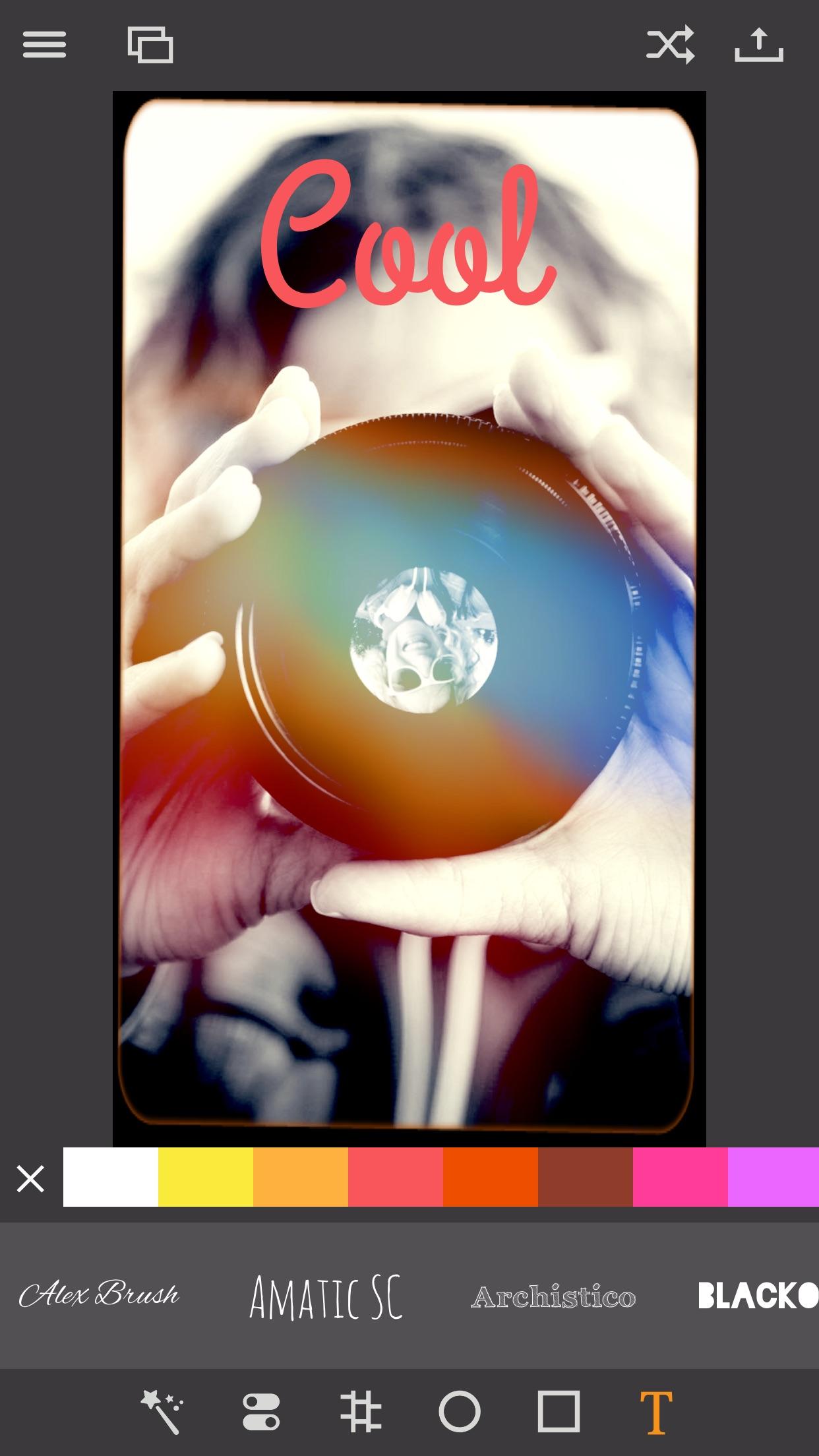 Pixagram app screenshot