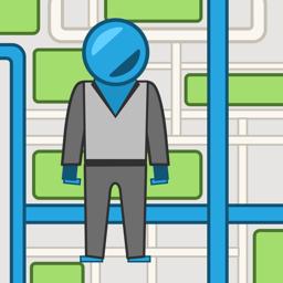 IStreets app icon - Google Street View ™