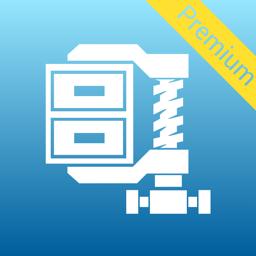 WinZip Pro app icon: zip, unzip & rar