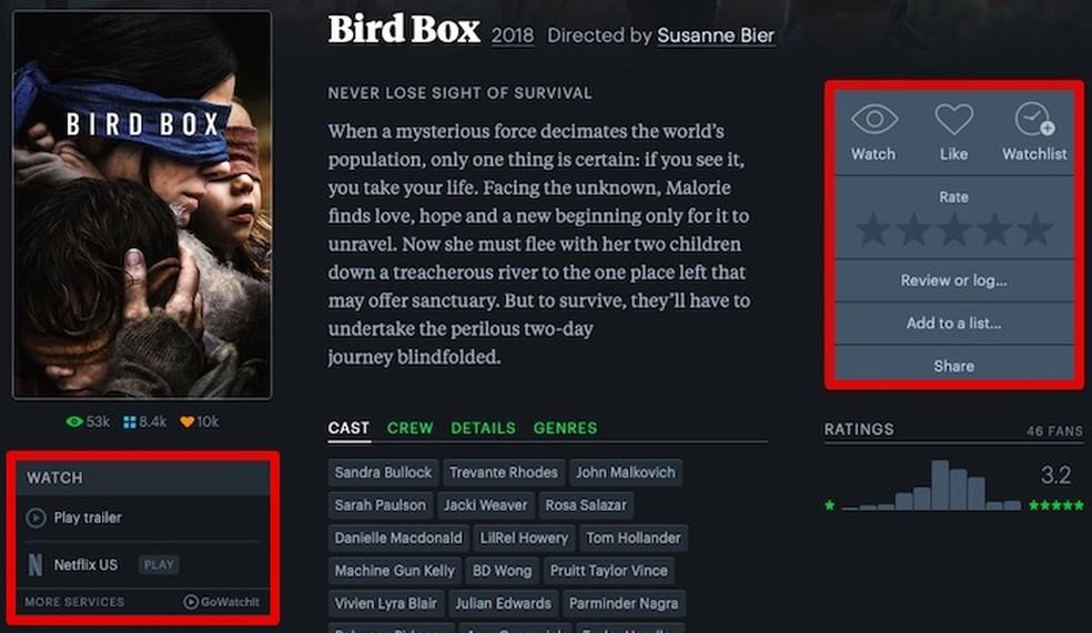Viewing movie data Foto: Reproduo / Helito Beggiora
