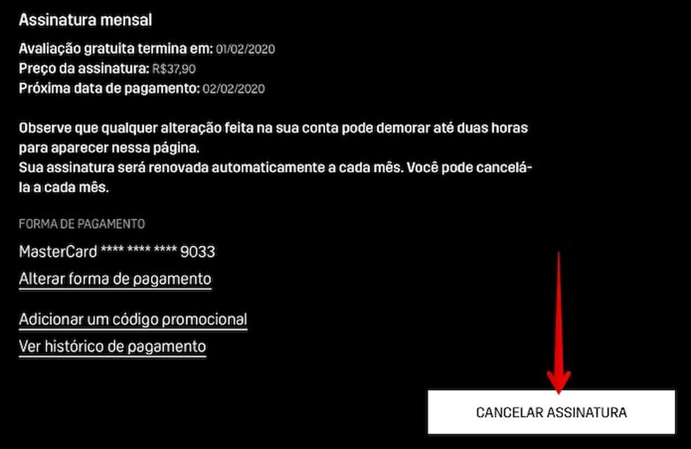 Click on the button indicated Photo: Reproduo / Helito Beggiora