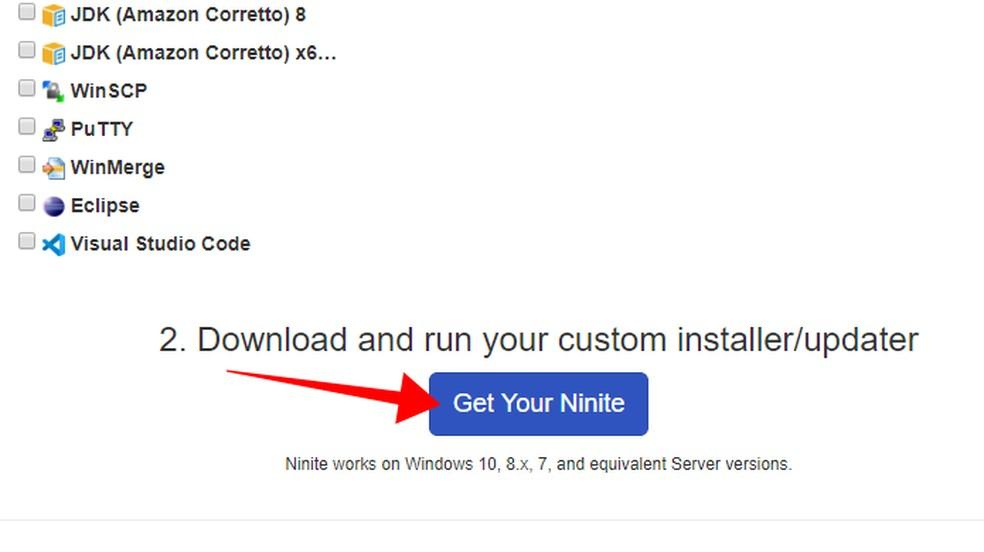 Download the installer Foto: Reproduo / Paulo Alves