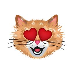 CatMoji - Cat Emoji Stickers app icon