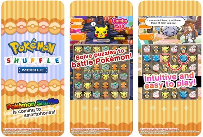 pokmon games android pokemon shuffle