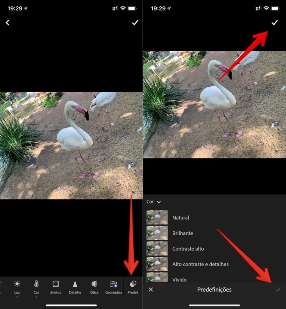 Editing photo in Adobe Lightroom Photo: Reproduo / Helito Beggiora