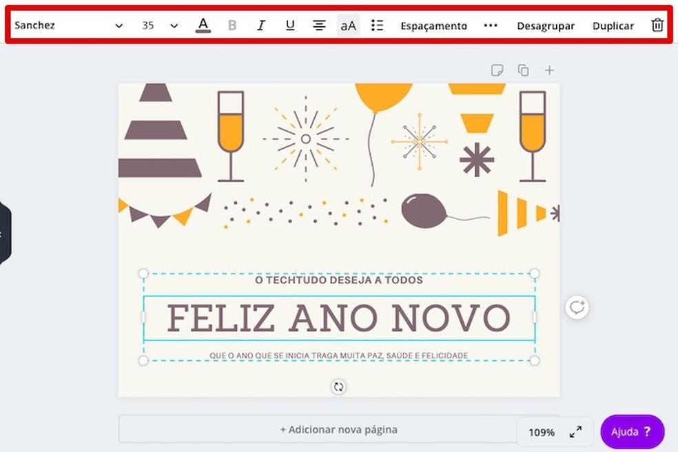 Editing template text Photo: Reproduo / Helito Beggiora