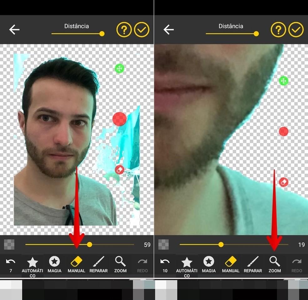 Removing background from photo Photo: Reproduo / Helito Beggiora
