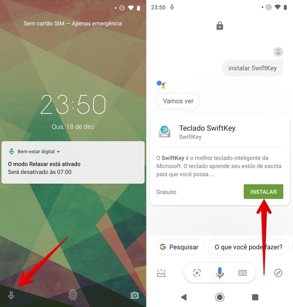 Access Google Assistant Photo: Reproduo / Helito Beggiora