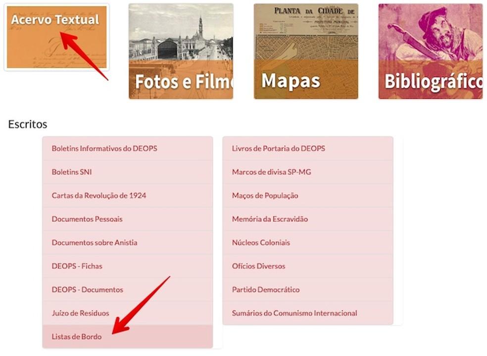 Open the search for immigrants board list Photo: Reproduo / Helito Beggiora
