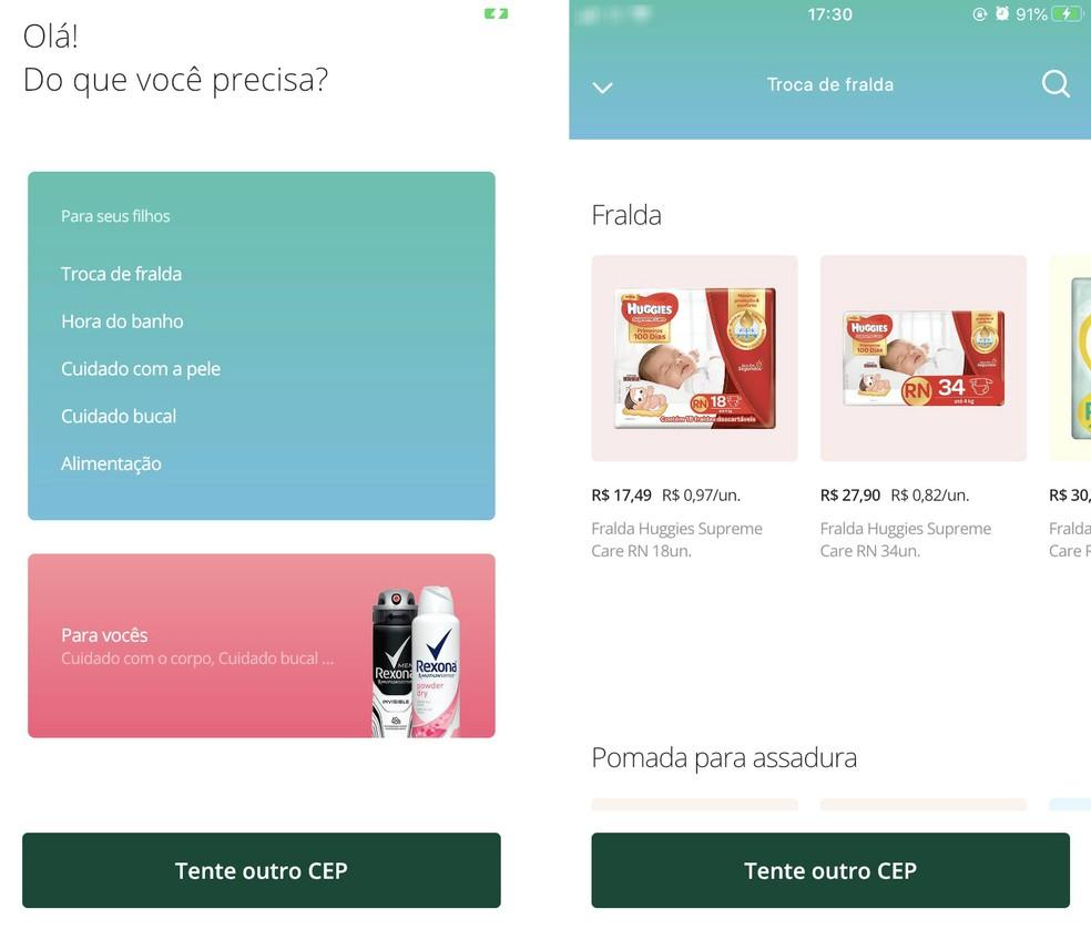 Avocado is a baby product delivery service Photo: Reproduo / Rodrigo Fernandes