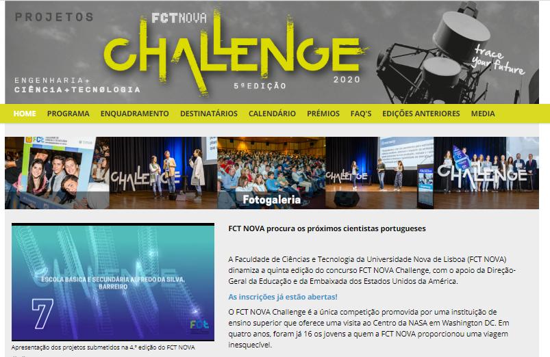 FCT Nova Challenge 2020
