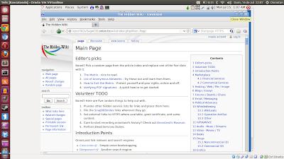 Hidden Wiki to Deep Web Wikipedia